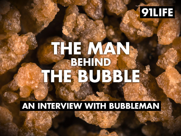 Bubble Man - Interview with Bubble Hash Maker and Creator of Bubble Bags