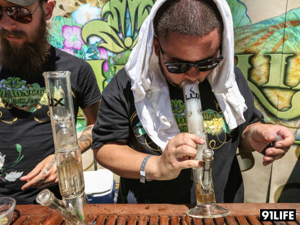 High Times Cannabis Cup presents the Magnolia booth
