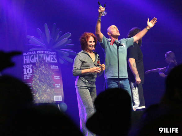 Valerie and Mike Corral win at that High Times Cannabis Cup